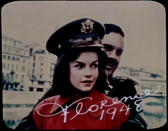 Geneviève Bujold and Cliff Robertson in the opening credits of Brian De Palma's Obsession (hint hint...)